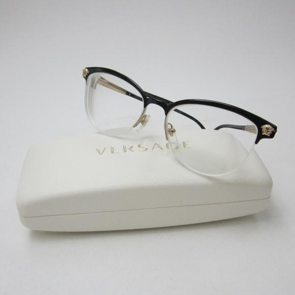07d698620bd4a Versace MOD.1235 1371 Eyeglasses  Italy OLZ148. M 5af347a62c705db227d8e25d